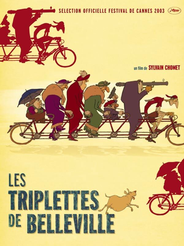 The Triples from Belleville movie poster
